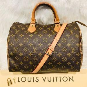 Authentic Louis Vuitton Speedy 30 #8.3R